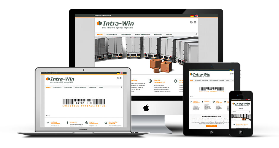 Intra-Win Webseite