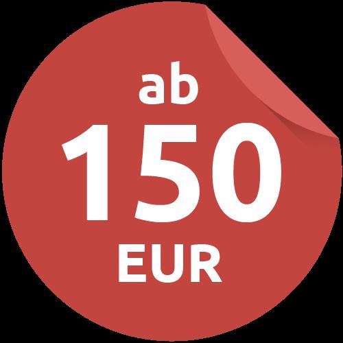 ab 150 €